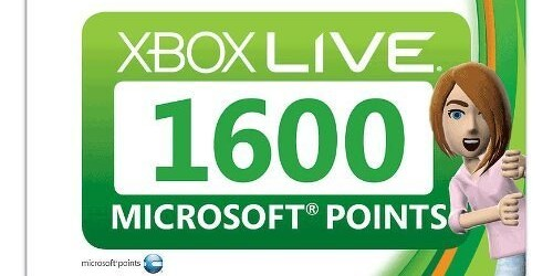Microsoft giving away 1600 points for pre-orders