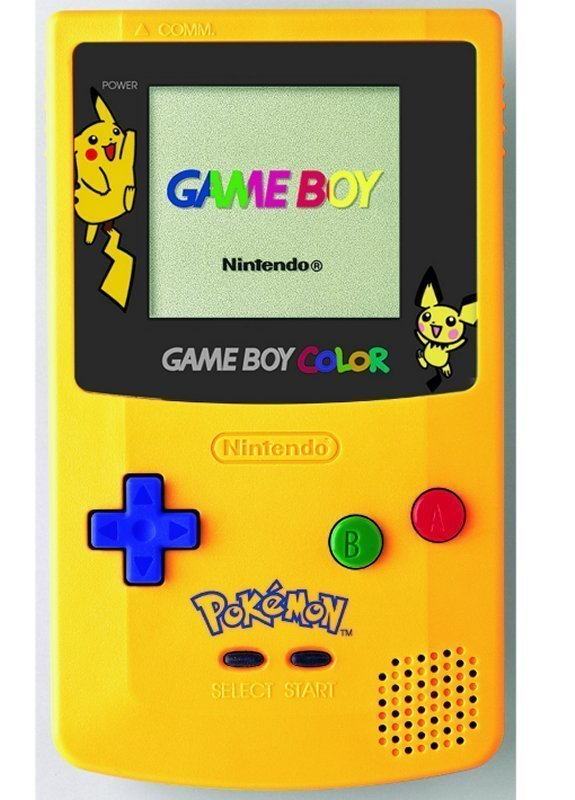 Pikachu Gameboy