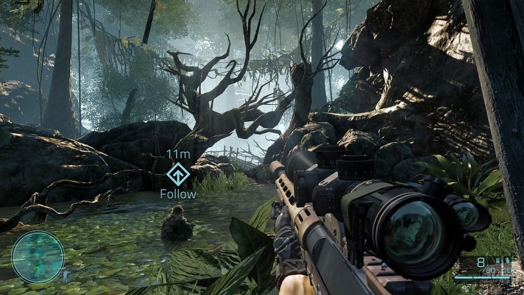 Sniper Ghost Warrior 2 Hud