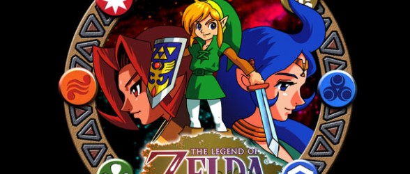 Legend of Zelda: Oracle of Ages and Seasons on the 3DS