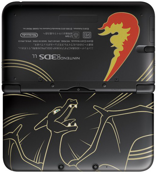 Charizard 3DS XL