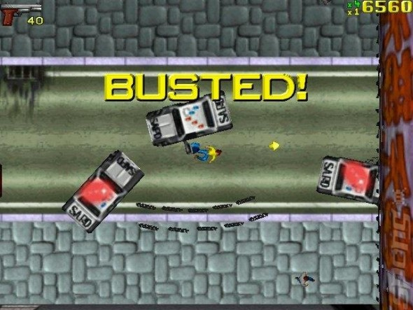 GTA1 Busted