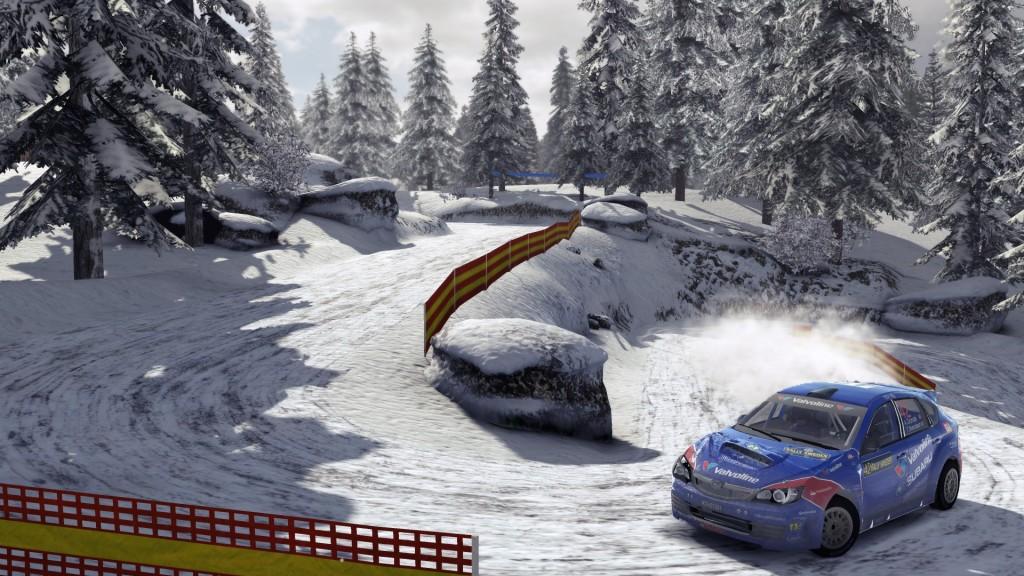 WRC 4 - Ice