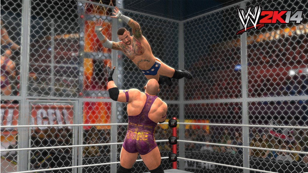 WWE 2K14 Hell in a Cell