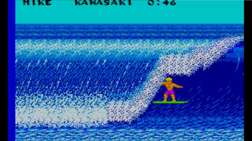 CG surfing
