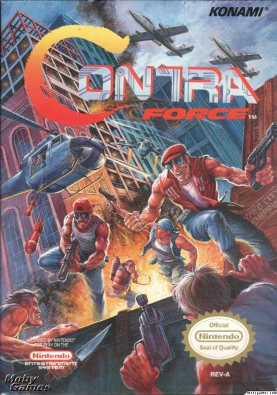 Contra Force Box Art
