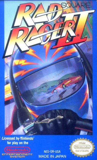 Rad Racer 2 box art