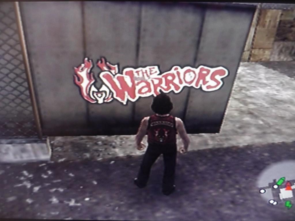 warriors graffitti tag
