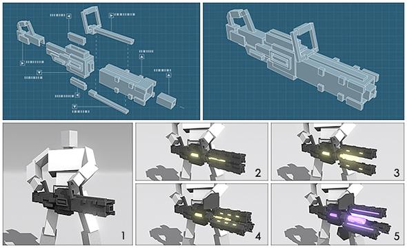 Minimum weapon crafting