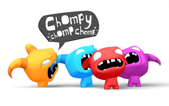 chomp chomp chomp logo