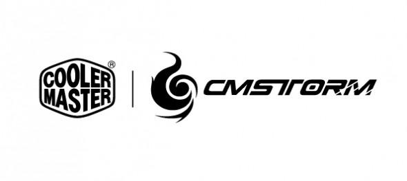 Cooler Master + Storm Logo - black