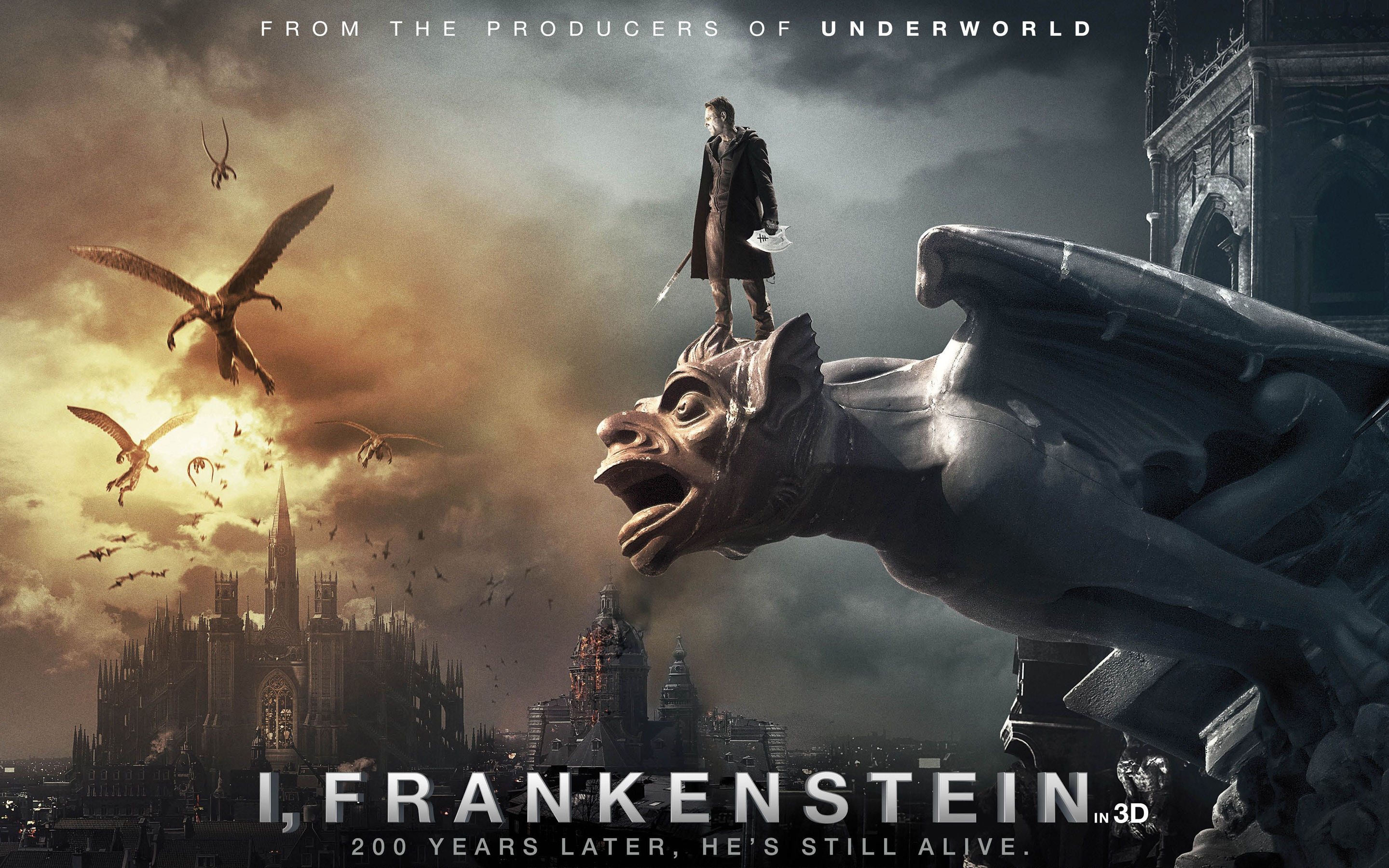 where Viktor Frankenstein  I Frankenstein