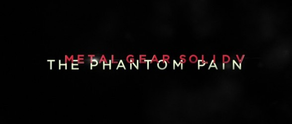 Metal Gear Solid V: The Phantom Pain live demo