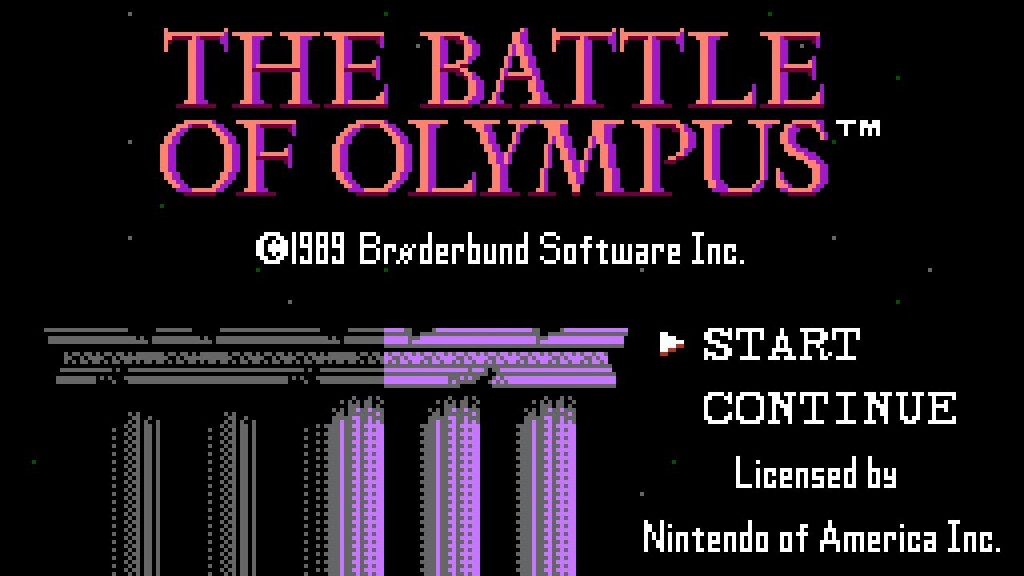olympus titlescreen