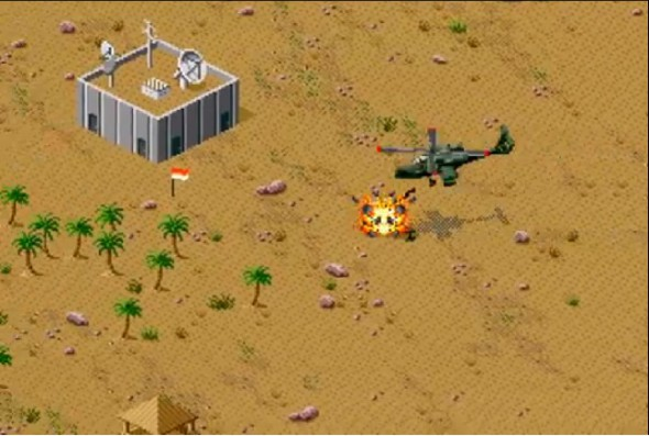 Desert Strike Genesis