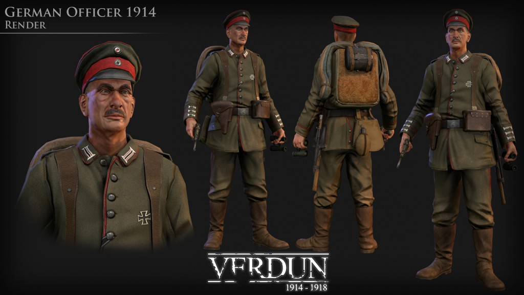 verdun-german officer