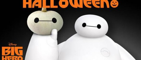 Carve your own Baymax pumpkin