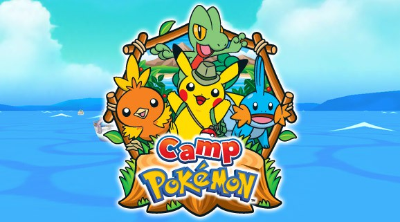 Camp Pokémon, now available!