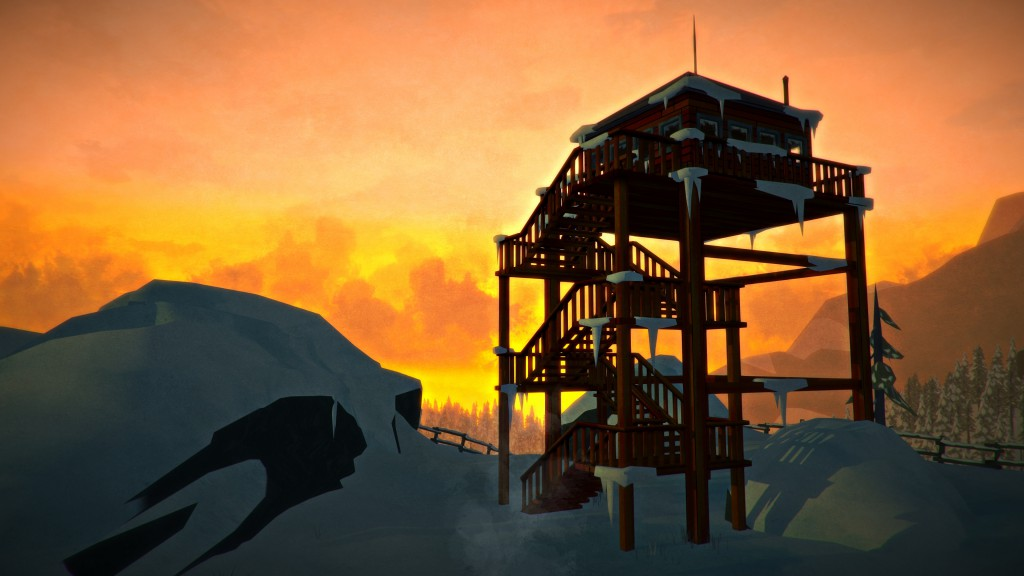 the long dark - lookout