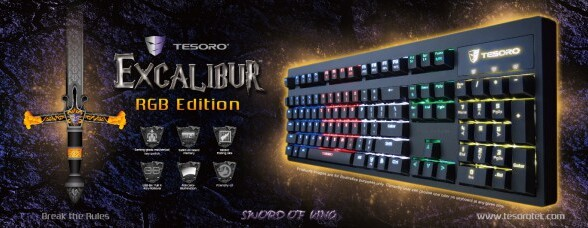 Tesoro Excalibur RGB Released