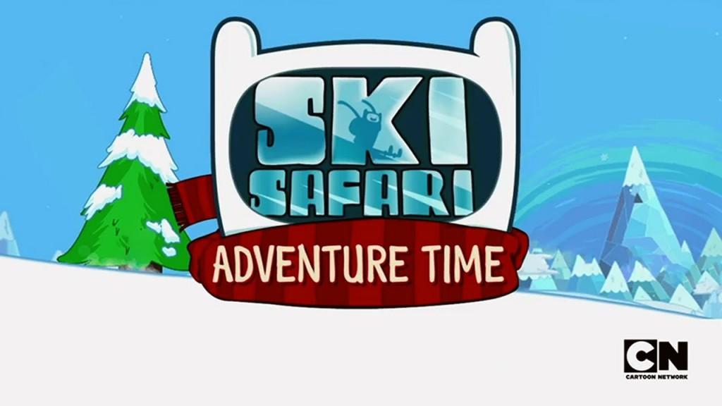 SkiSafari_AdventureTime_Logo