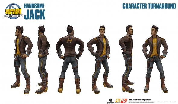 Borderlands: The Pre-Sequel, Handsome Jack Doppelganger Pack