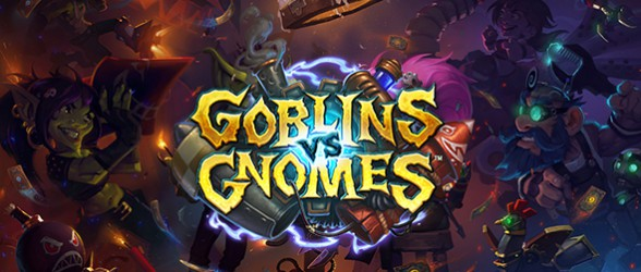 First expansion for Hearthstone is Goblins vs Gnomes