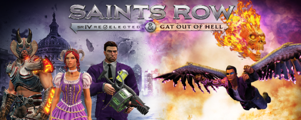 Saints Row IV is taking over January 2015