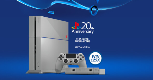 PlayStation 20th Anniversary Hunt in Belgium and Luxembourg
