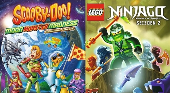 Home Release – Scooby-Doo: Moon Monster Madness & LEGO Ninjago S2