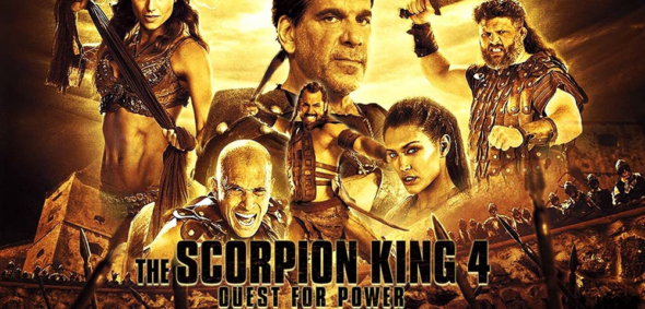 Home Release – Scorpion King 4: Quest for Power