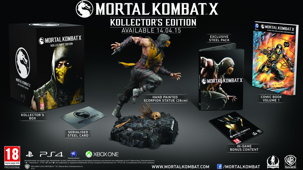 mortal kombat x kollectors edition