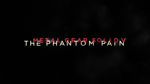 Release date information for Metal Gear Solid V: The Phantom Pain