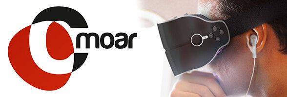 Cmoar Virtual Reality Headset Kickstarter nearly to a close