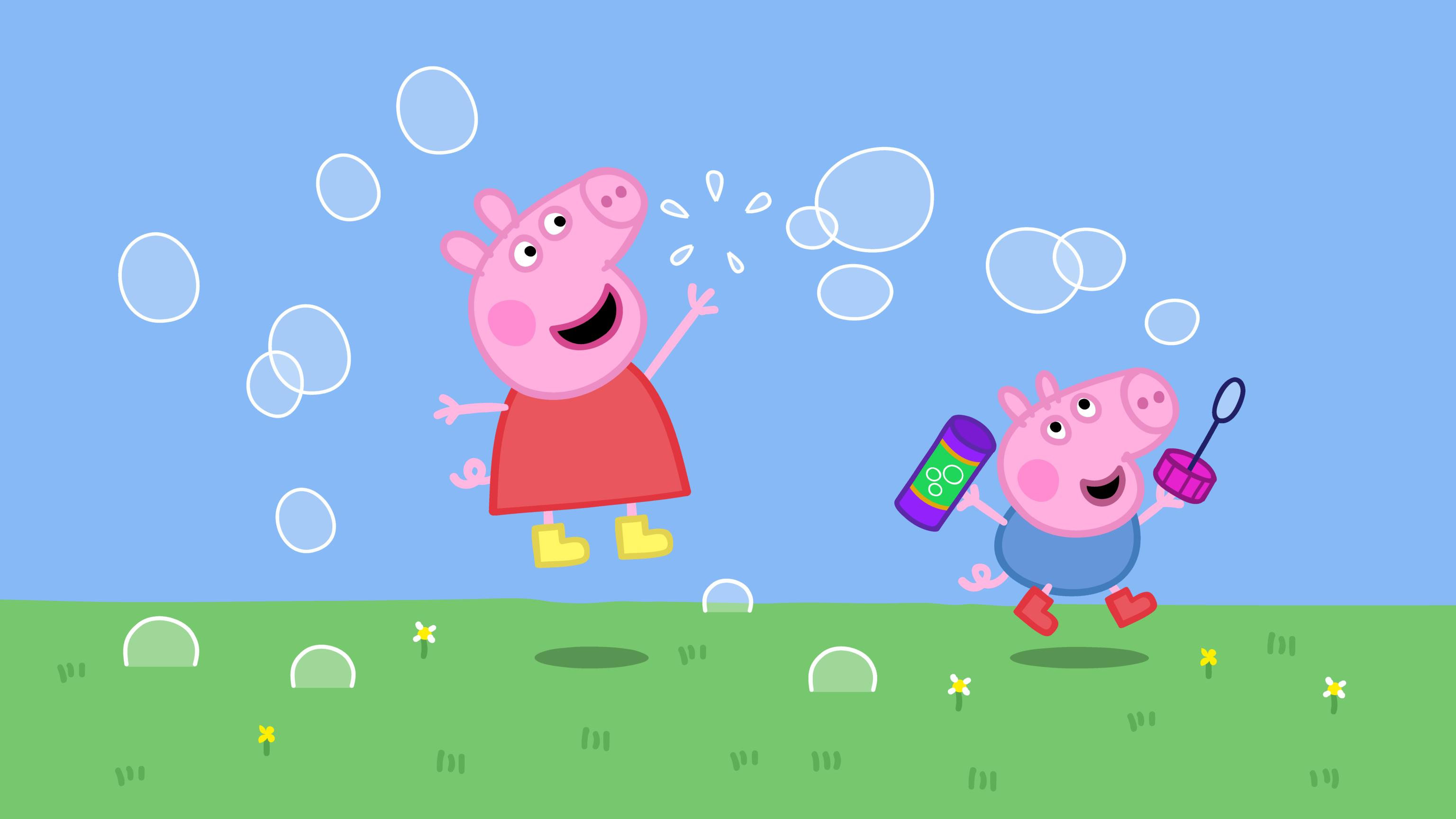 Peppa pig videos in english only