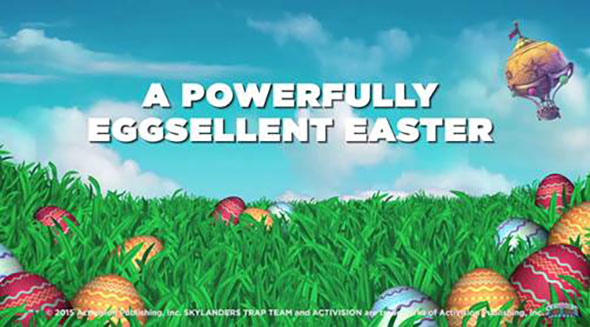 Happy Easter from Skylanders Trap Team