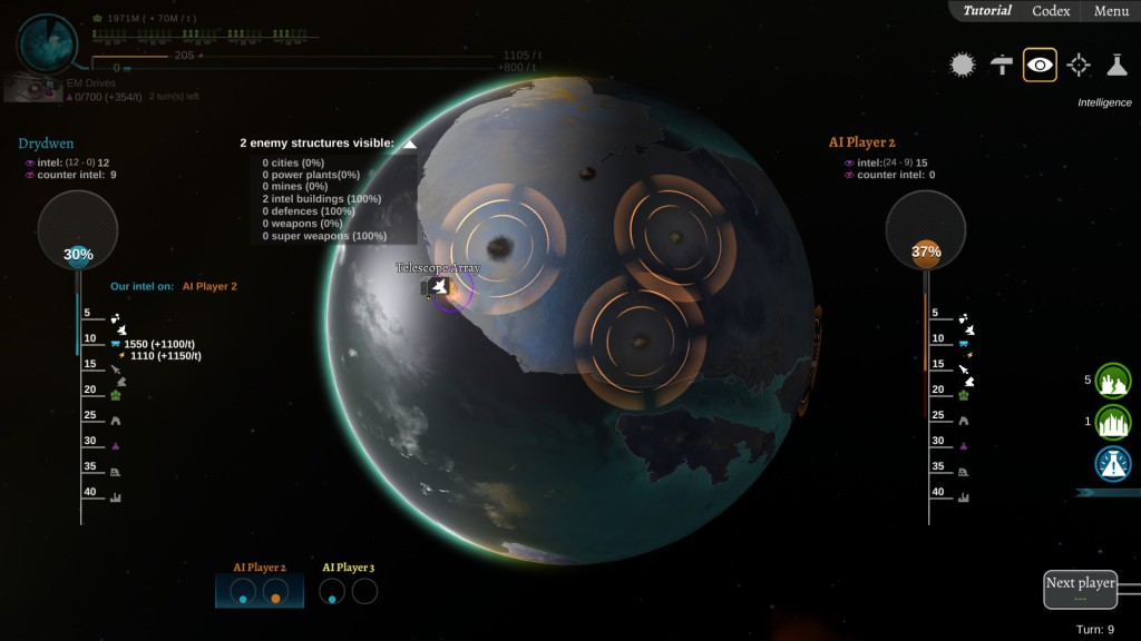 interplanetary intelligence view