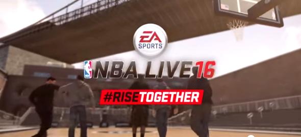 NBA LIVE 16 reveals Live Motion