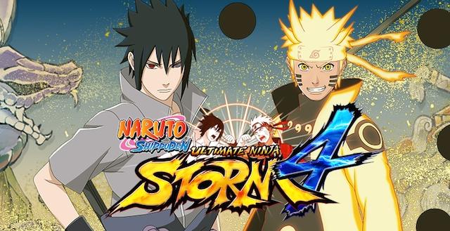 Naruto Ninja Storm 4 logo