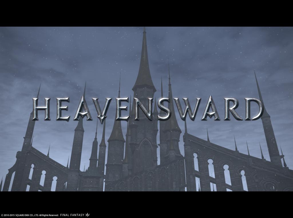 Final Fantasy XIV Online Heavensward title
