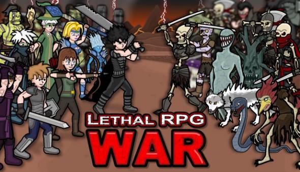 Lethal RPG War logo