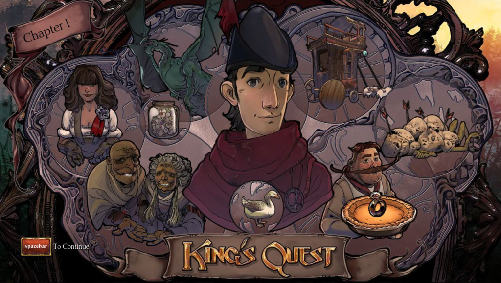 Kings Quest Chapter 1 Result