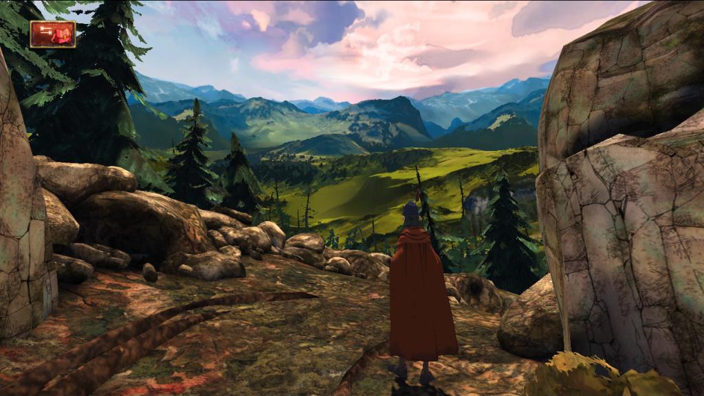 Kings Quest Chapter 1 landscape