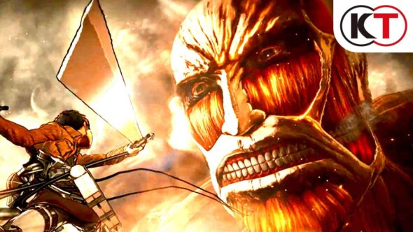 Koei Tecmo Games is making 'Attack on Titan' game