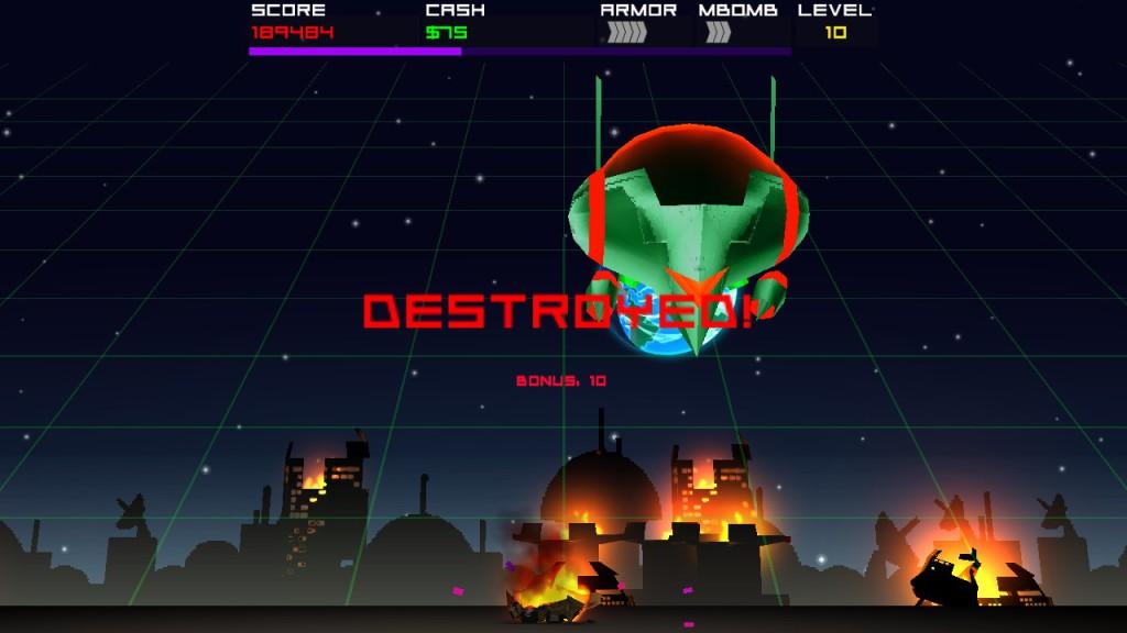 cosmic rocket defender -3