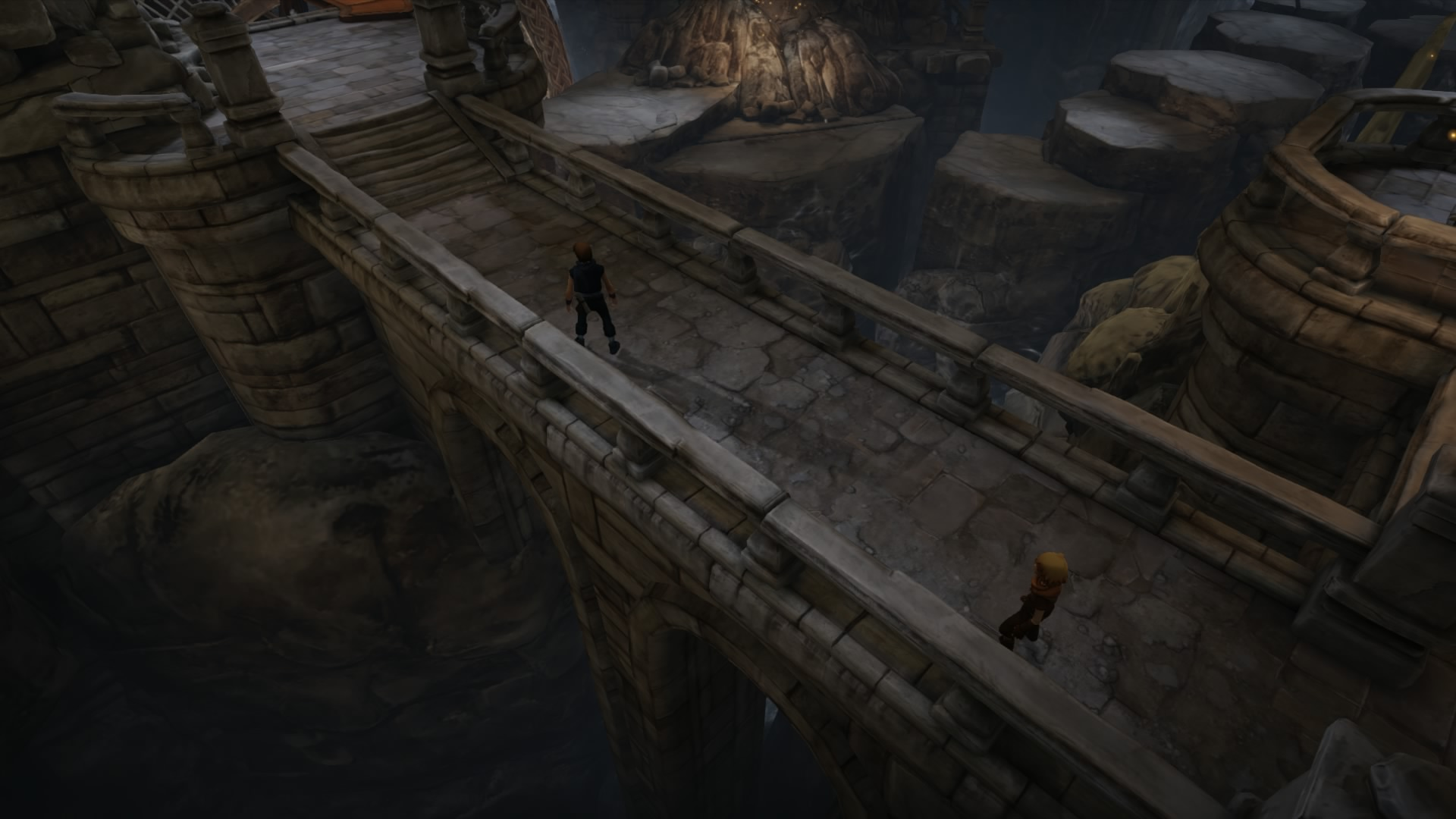 a tale of two brothers compare Brothers: a tale of two sons is a dark, emotionally charged adventure that's a masterclass in doing more with less aug 7, 2013 9:37am.