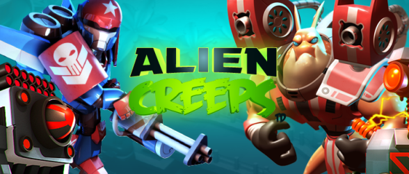 First birthday of Alien Creeps TD