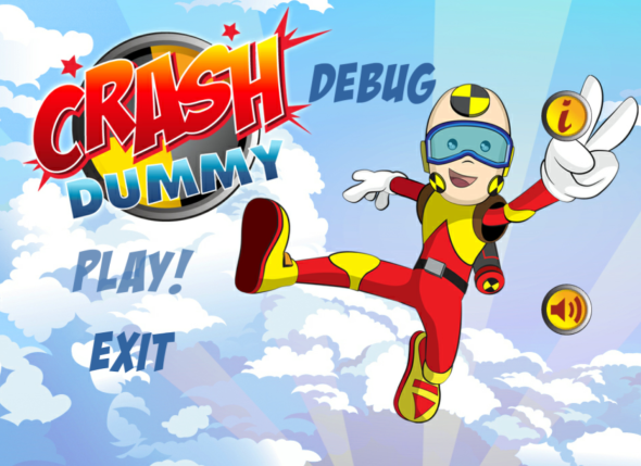 Crash Dummy Logo