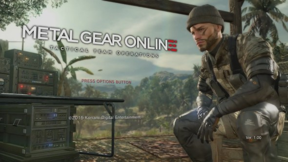 Metal Gear Online Launches on PC Steam