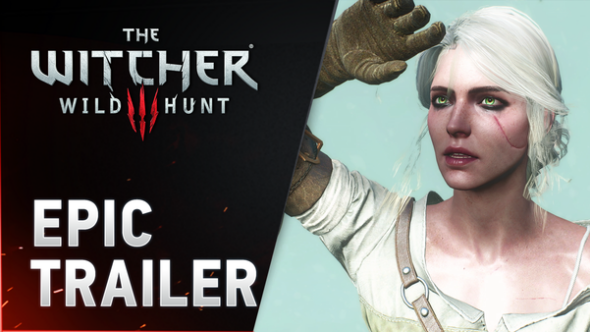Crew behind The Witcher III sends out their thanks with Epic Trailer